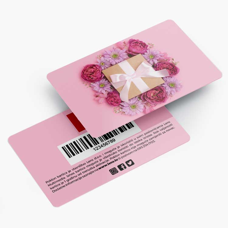 Darovne kartice izrada
